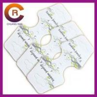 Buy cheap custom full printing paper jewelry card holder earring necklace card from wholesalers