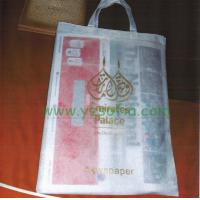 Sofia-N0001,2015 Disposable Hotel Non-Woven Bag/ Newspaper Bag Manufactures
