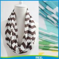 Buy cheap 2015 nursing scarf jersey knitted fabric print chevron nursing scarf from wholesalers