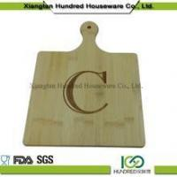 Buy cheap others Bamboo Fruits Cutting Board Wooden Bread Cutting Chopping Board with Letter from wholesalers