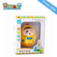 Wholesale Cartoon Roly-poly dolls plastic tumbler toy roly-poly toy with Nod not doll promotional toy from china suppliers