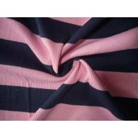 Buy cheap Single/Double-side color-stripe knitted fabric from wholesalers