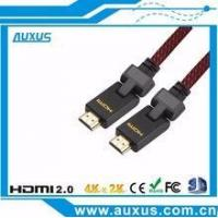 Wholesale Premium 3D 180 degree rotatable HDMI cable bulk buy from alibaba express from china suppliers