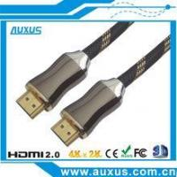 Wholesale High-speed HDMI cable 2.0 supports Ethernet, 3D, 4K and Audio return channel from china suppliers