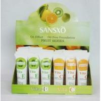 Wholesale 30ml Sansxo Vitamin-E Makeup Foundation from china suppliers