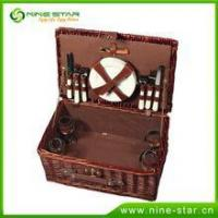 Buy cheap 2016 High quality hamper basket willow picnic box from wholesalers