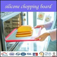Buy cheap 2016 eco-friendly silicone edge tempered glass cutting board set from wholesalers