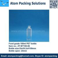 Wholesale Food Grade 100ml PET Bottle from china suppliers
