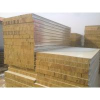 Wholesale Steel Structure Parts Rock Wool Panel from china suppliers