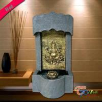Buy cheap Polyresin Kindly Hindu Gods Fountain With Light And Rolling Ball from wholesalers