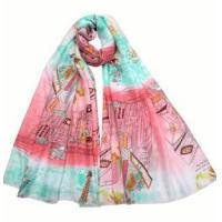 Buy cheap Custom printed scarves from wholesalers