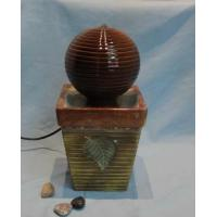 Buy cheap CERAMIC FOUNTAIN ITEM NO: BCD6042-1 SIZE(CM): 16*16*31 MOQ(PCS): 180 DESCRIPTION: CERAMIC FOUNTAIN from wholesalers