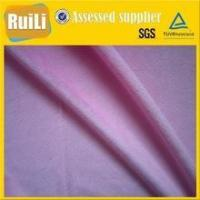 Buy cheap 100% polyester short pile super soft fabric for making super soft plush toy fabric from wholesalers