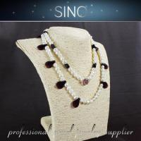 Buy cheap blue pearl necklaces pearl strand black pearl shoes from wholesalers