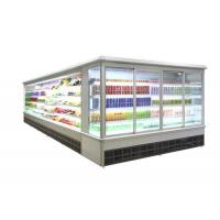 Upright Glass Door Air Cooling Refrigerator