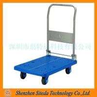 STD Anti static rubber silent trolley