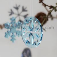 Buy cheap Large Hanging Snowflake from wholesalers