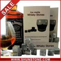 Buy cheap Whiskey stones gift boxes in wood, JIM BEAM supplier from wholesalers