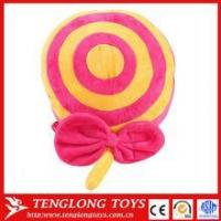 Buy cheap Toys Promotional cheap plush toy, plush lollipop toy, custom plush lollipop from wholesalers