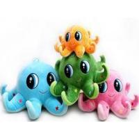 Buy cheap Toys pp cotton emoji pillow octopus plush toy from wholesalers