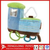 Buy cheap Promotional cheap plush toy, stuffed train toy, plush train toy from wholesalers