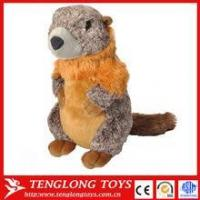 Buy cheap Toys promotional cheap plush marmot toy, stuffed animal marmot from wholesalers