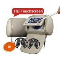 Buy cheap ES555 Digital Touchscreen Auto Headrest Monitor USB SD from wholesalers