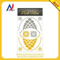 Wholesale wholesale tattoo bracelet body art shiny gold temporary flash tattoos from china suppliers