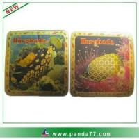 Wholesale gold foil 3D custom metal fridge magnet from china suppliers