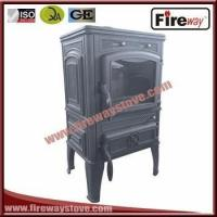 High Efficiency 120mm pipe diameter cast iron wood burning stove Manufactures