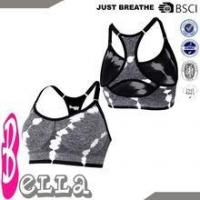 Buy cheap cheap OEM black/white fabric blends girls good support seamless bra from wholesalers