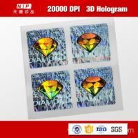 Wholesale Color Change Custom 3d Holographic Stickers with UV Print from china suppliers