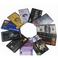 Buy cheap Wholesale Credit Card Size USB Flash Drive from wholesalers