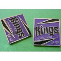 Wholesale Badge Soft Enamel Lapel Pins - Square shape from china suppliers