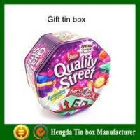 Buy cheap New design high quality tin box clear lid from wholesalers