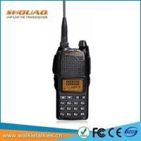 Buy cheap SHOUAO TS-UV18 dual band amateur portable uhf vhf radio chinese from wholesalers