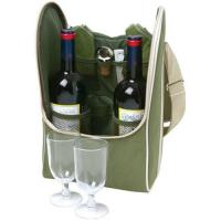 Buy cheap Fashion custom made top genuine leather wine case product