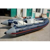 China RIB Boat 2015 hot sale 4.3m Rib inflatable boat manufacturers on sale