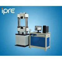 Buy cheap Benchtop Instruments Computer controlled servo hydraulic universal testing machine from wholesalers