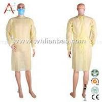 Buy cheap Hospital and Surgeon Single Use Waterproof Disposable Isolation Gown product