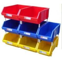 warehouse stackable plastic storage bin for small parts