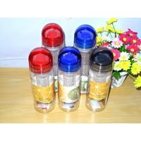 Buy cheap Fruit Infuser Bottles water bottle with fruit infuser 700ml tritan material hot sale from wholesalers