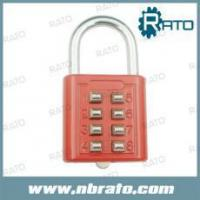 Wholesale RP-155 8 code push button tsa lock from china suppliers