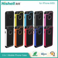 Buy cheap 3 in 1 Football Grain Combo Mobile Phone Case for iPhone 6 from wholesalers