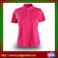 Buy cheap T-shirt Wholesale Custom Plain Mesh Tshirt for Women in Promotion from wholesalers
