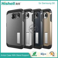 Wholesale Armor case with holder for Samsung S6 from china suppliers