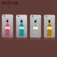 Wholesale wholesale 3d pc liquid cocktail bottle cell phone case for iphone 6+ PLLS0004(2) from china suppliers
