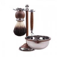 Wholesale Wood Shaving Brush High-end Gift Set from china suppliers