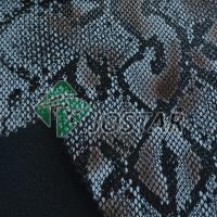 Buy cheap Embossed Snake Skin Leather from wholesalers