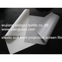 elastic front projection screen surface Manufactures
